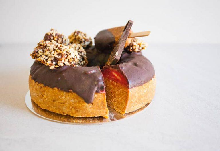 PB Jelly Donut Cake