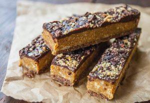 Peanut butter fudge bar