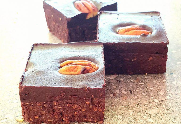 Pecan brownie