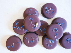 Peppermint cream chocolates