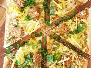 Pizza jamaican