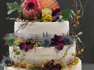 Three tier assorted wedding