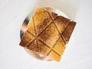 Tiramisu cream cake