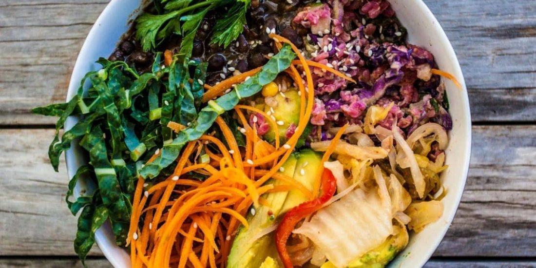Plant-based dish.