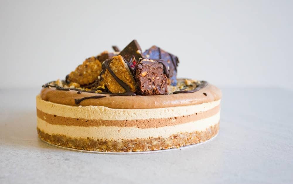 Peanut Butter Caramel Choc Cake